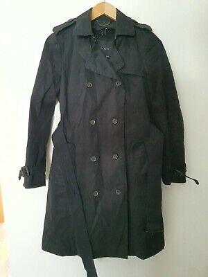 ZARA BASIC Trench Style Coat Size S