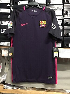 991c782cb Nike Fc Barcelona Third Kit 2016 Dark Purple Pink Size Large Only