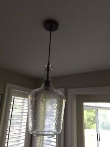 Set of 2 (Ethan Allen)  pendant light