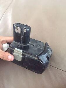 Hitachi 18v cordless battery Enoggera Brisbane North West Preview