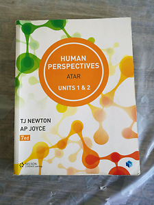 Human bio text books year 11 East Perth Perth City Area Preview