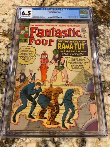 FANTASTIC FOUR #19 CGC 6.5 1ST RAMA-TUT AKA KANG THE CONQUEROR / DOCTOR DOOM HOT