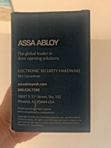 New Securitron EEB2 ASSA ABLOY Emergency Push-to-Exit Button w/30 sec Timer