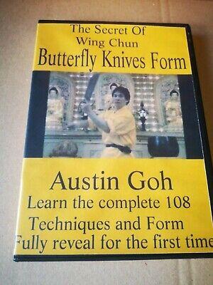 Austin Goh - The Secret Of Wing Chun Butterfly Knives Form DVD RARE