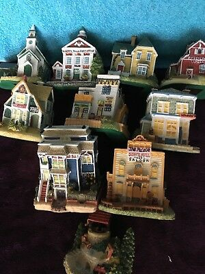 Liberty Falls 1996 10 piece collection decorative collectibles