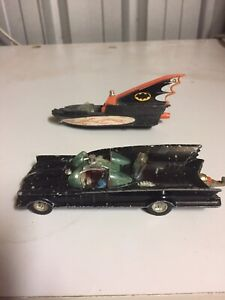 CORGI TOY No. 267 BATMAN'S BATMOBILE BATBOAT (sold)
