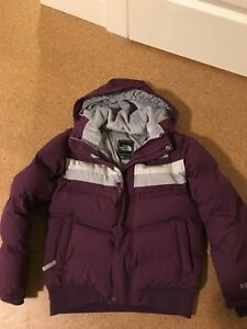 North Face girls winter jackets