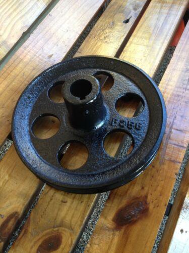 Vintage Duplex pump jack drive pulley