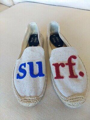 Cuisse de Grenouille X Soludos Surf Espradrille Flats Size 8