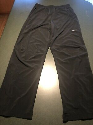 Mens Nike Jogging Track Running training athletic Gym Pants sz large