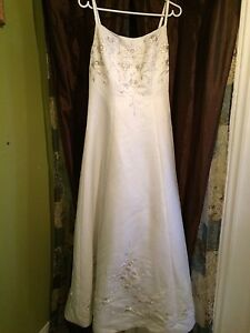 Wedding Dress with wrap