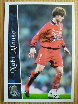 Mundicromo Liga 2002/2003 new card Rookie #342 Xabi Alonso - Real Sociedad