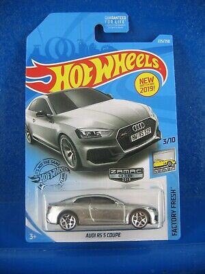 2019 HOT WHEELS AUDI RS 5 COUPE ZAMAC