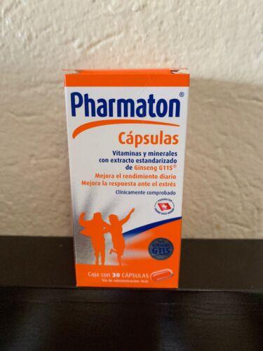 Pharmaton - Vitamins and Minerals + Ginseng 30 caps - Free US Shipping