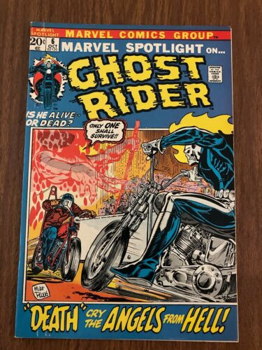 Marvel Spotlight on The Ghost Rider # 6 2nd Appearance of Ghost Rider