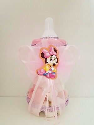 Minnie Mouse Baby Shower Centerpieces (Minnie Mouse Centerpiece Bottle Large 13