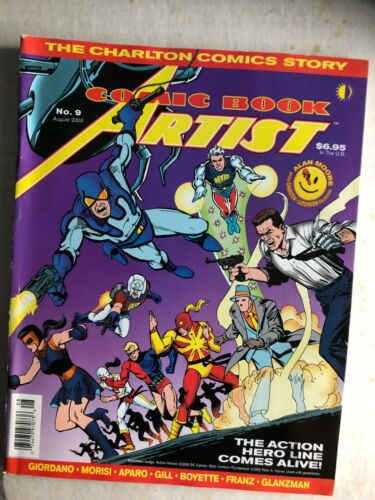 Fanzine COMIC BOOK ARTIST #9 - The Charlton Comics Story