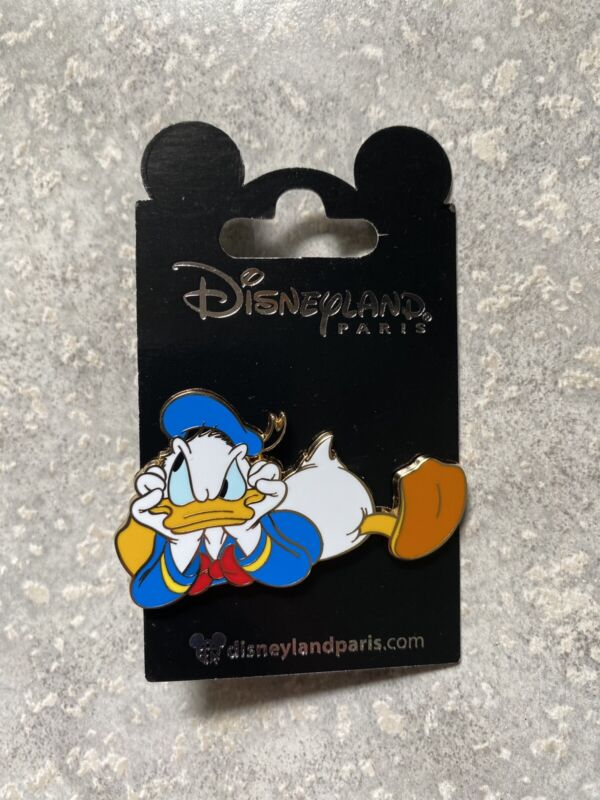 New Disney DLP DLRP Disneyland Paris Upset Angry Donald Duck Pin Duck Tales 2021