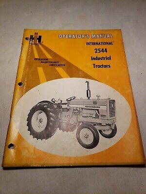 International 2544 Industrial Tractor Operators Manual 1082721r1 8-71