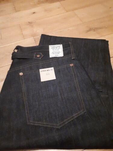 Jeans denim Lutece MFG CO Martingale Selvedge rockabilly us navy w38 L38