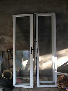 2 pairs of aluminium French doors in excellent condition Seaforth Manly Area Preview