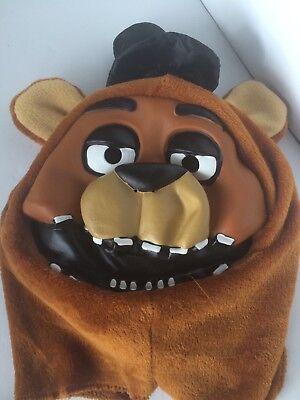 Five Nights At Freddy's Freddy Plush Mask Halloween Cosplay Costume Bear Rubie's (Five Nights At Freddy's Halloween Costumes)