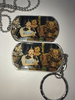 THE WIZARD OF OZ DOG TAG NECKLACE OR KEYCHAIN..YOU CHOOSE L@@K](Wizard Of Oz Dogs)