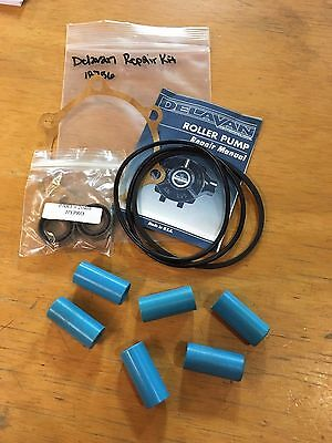 New Delavan 6 Roller Pump Repair Kit 18756 Replacement Parts
