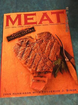 Meat Omaha Steaks Cookbook Beef Veal Pork Lamb Venison Game Poultry Fowl 2001