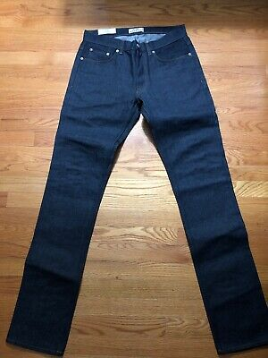 Acne Studios Roc Raw Jeans Size 34 Slim Skinny Fit More Like 32 New