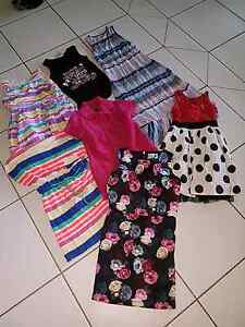 Girls size 7 8 9 10 mixed clothing South Maclean Logan Area Preview
