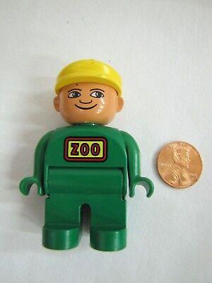 LEGO DUPLO ZOO KEEPER MAN WORKER 2.5