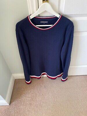 Tommy Hilfiger Mens Medium Jumper/sweater Navy Long Sleeves