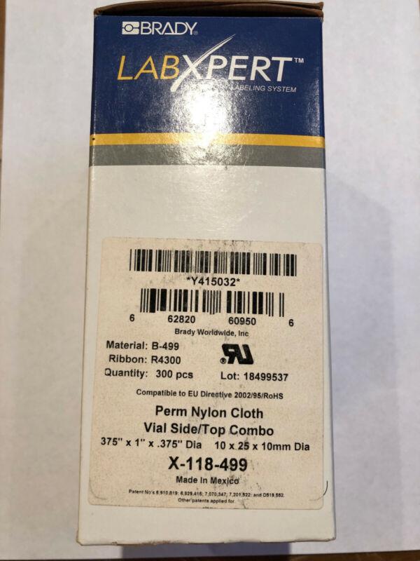 Brady Labxpert Perm Nylon Cloth X-118-499, Label cartridge