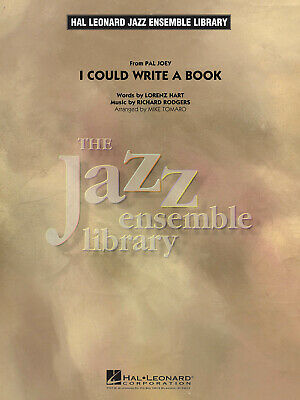 I Could Write A Book Big Band Set Orchestra Learn to Play Music SCORE & PARTS Music Writing Part