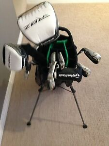 Full set of Taylor Made RBZ  Left handed golf clubs.