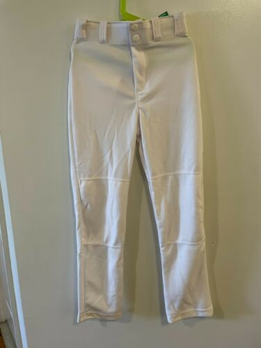 Rawlings Boys Semi-Relaxed Baseball Pants White Large L