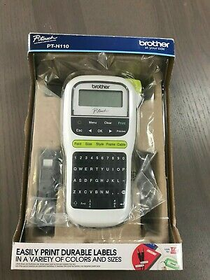 Brother P-touch Pt-h110 Easy Portable Label Maker Lightweight Qwerty Keyboard