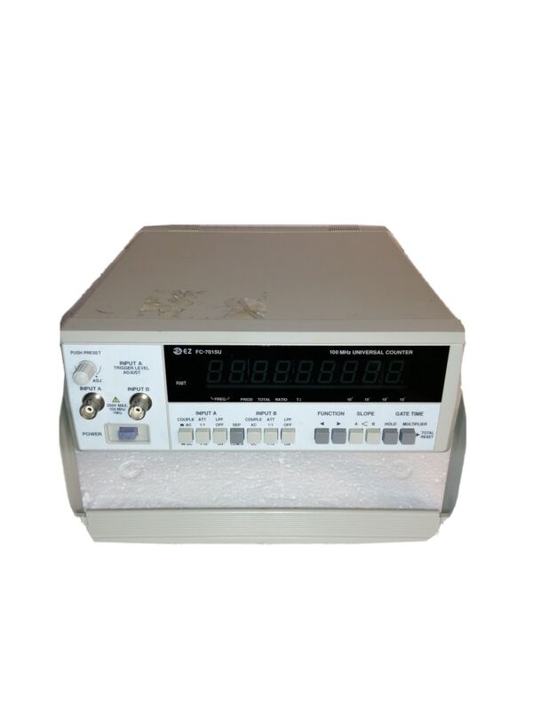 EZ Digital FC7150U Universal Counter w/ Power Cable