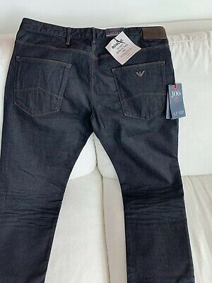 Armani Jeans J06 Slim Fit Dark Blue Jeans