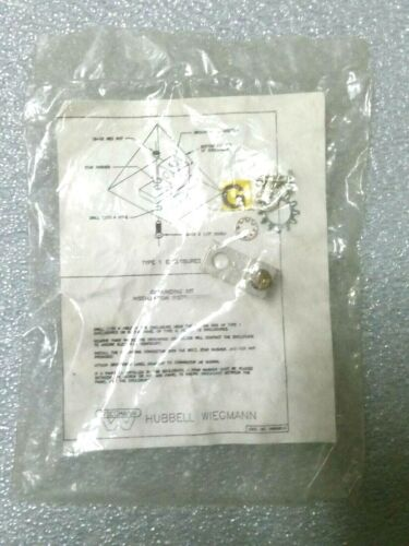 Hubbell-wiegmann Grounding Lug Kit For Multiple Enclosure Types W/ Instructions