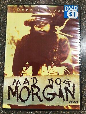 Mad Dog Morgan DVD Dennis Hopper, Jack Thompson, David Gulpilil New Sealed New Mad Dog