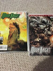 Moon Knight comic lot - 20 issues, plus graphic novel