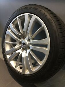 """RANGE ROVER SPORT 20"""" GENUINE ALLOY WHEELS AND TYRES Carramar Fairfield Area Preview"""
