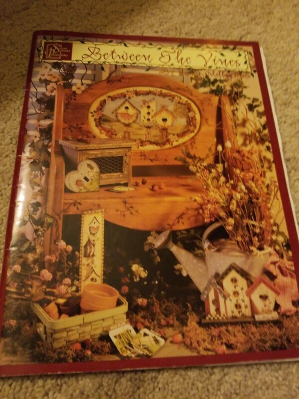 Between the Vines #1 by Jamie Mills Price - Tole Painting book w/pattern insert