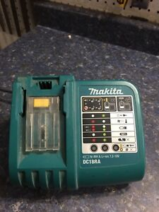 Two Makita 18v Chargers