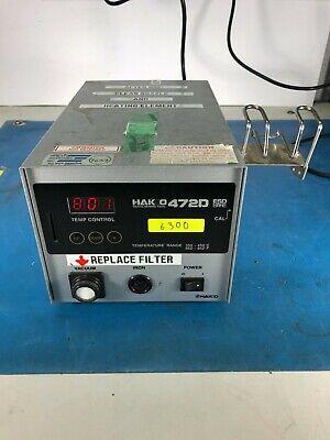 Hakko 472d Esd Safe Desoldering Station Wo Tool 30day Warrantyror