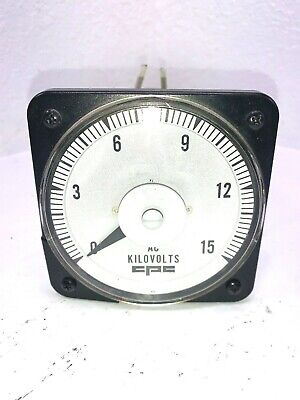 Yokogawa Cpc Ac Kilovolts Meter Ab40 0-250v