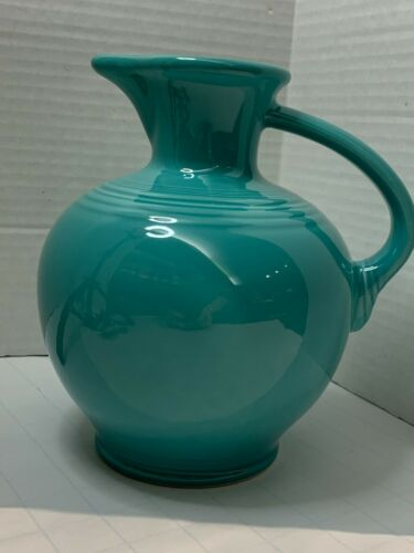Vintage Fiestaware - Carafe Pitcher - Meadow glaze (Light Green) color
