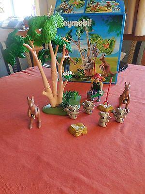 Playmobil 4854 mit 7 Koalas, Baum und 4 Kängurus